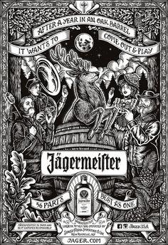 Jägermeister - 56 Parts - Best as One on Behance