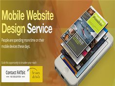 Mobile Website Design Page by FATbit Technologies