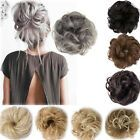 Curly Messy Bun Hair Piece Scrunchie Updo Cover Hair Extensions Real as human UK Messy Bun For Short Hair, Long To Short Hair, Short Hair Styles, Baby Girl Hairstyles, Messy Hairstyles, Types Of Buns, Fake Hair Extensions, Bun Hair Piece, Trending Hairstyles