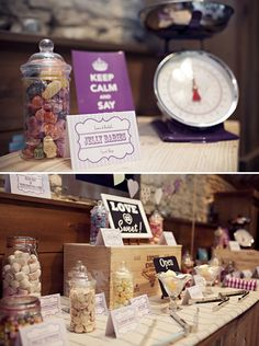 sweetie table- this is right up your alley Lauren!