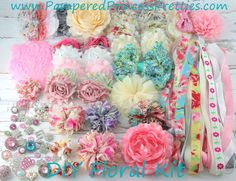 Hey, I found this really awesome Etsy listing at https://www.etsy.com/listing/202354087/diy-headband-kit-40-headbands-floral-mix