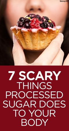 Learn these 7 Scary Things Processed Sugar Does to Your Body.