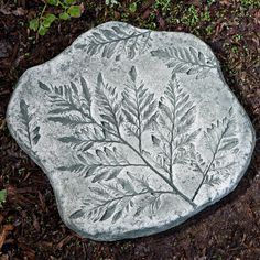 Have to have it. Campania International Fossil Fern Stepping Stone $39.99