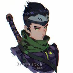 灵雀. Overwatch Genji