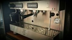Bezzera b2013 espressomachine. Our newest tool for our barista's!