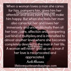 A Real Woman Loves Her Man Quotes | Love Quotes Everyday