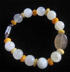 SmithNJewels - Bracelets - Jade, shell and flourite