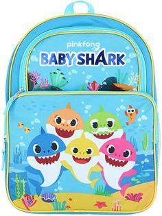 Baby Shark Kids Children Back to School Backpacks and Lunch Bags #babysharkbackpack #babysharkkidsbackpack #babysharkschoolbackpack #babysharklunchbag Cute Backpacks For School, Cool Backpacks, Sharks For Kids, Best Travel Backpack, Survival Backpack, Bookmarks Kids, 5 Babies, Baby Shark, School Bags