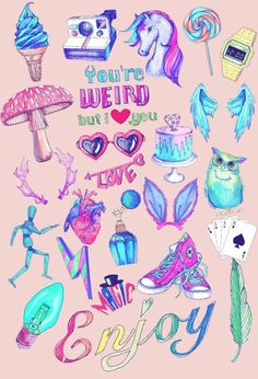 unicorns collage - Buscar con Google