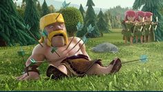 clash of clans barbarian backgrounds Barbarian, Tv Commercials, Clash Of Clans, Online Portfolio, Creative, Projects, Backgrounds, Behance, Games