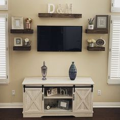 Your place to buy and sell all things handmade Shelf Above Tv, Above Tv Decor, Shelves Around Tv, Decor Around Tv, Tv Wall Decor, Ledge Shelf, Floating Shelves Diy, Rustic Shelves, Farmhouse Shelving