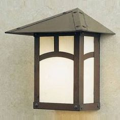 Craftsman Style Light Fixtures | DH-4 Arroyo Craftsman Dartmouth Series Outdoor Rated Hanging Lantern