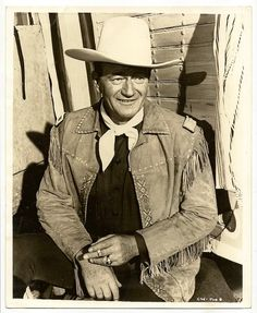 """John Wayne"" Movie Star - born (Francis Marion Robert Morrison) http://dunway.com"