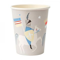 Thirsty knights and maidens will love to drink out of these beautifully illustrated cups. Suitable for hot & cold drinks. Pack of Cup capacity: Product dimensions: x x Dragons, Under The Nile, Knight Party, Affiliate Partner, Dragon Knight, Dragon Party, Buy Buy Baby, Mini Boden, Pottery Barn Kids
