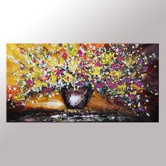 Oil Painting Large Painting Original Art Wall Art by TopTextureArt