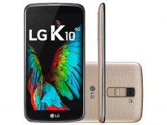 "Smartphone LG K10 TV 16GB Dual Chip 4G Câm. 13MP - Selfie 8MP Tela 5,3"" Proc. Octa-Core Android 6.0"