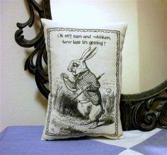 Alice in Wonderland Pillow