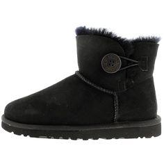 UGG - Women's Mini Bailey Button Boots - Black