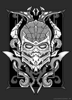 Scorpion MK (tattoo-style )