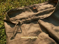 mens linen trousers - drawstring
