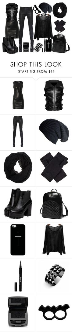 """""""☠Weekend warrior☠"""" by goth-dolly ❤ liked on Polyvore featuring Yves Saint Laurent, Rick Owens, Wet Seal, Princess Carousel, Casetify, Stila, Waterford, Lancôme and L'Artisan Créateur"""