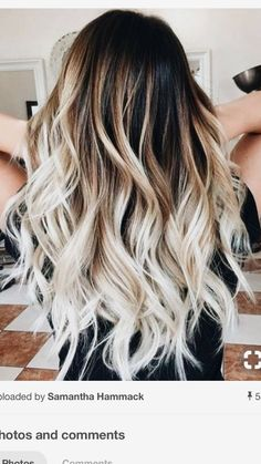 Golden Blonde Balayage for Straight Hair - Honey Blonde Hair Inspiration - The Trending Hairstyle Ombre Hair Color, Hair Color Balayage, Hair Highlights, Blonde Balayage, Curly Balayage Hair, Bright Highlights, Dyed Hair Ombre, Honey Balayage, Color Streaks