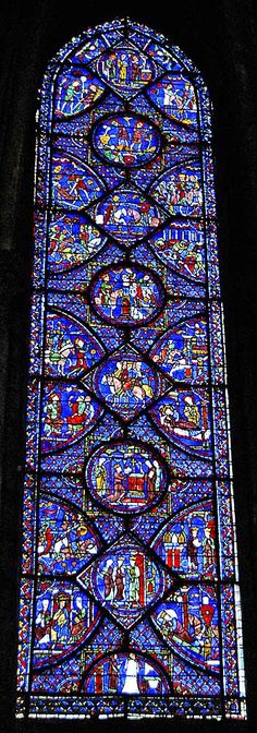 Chartres Cathedral--the most awesome stained glass windows ever!  The mix of architecture is also way cool.