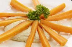 hummus and carrots 100 calories