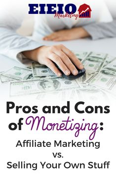 Should you create your own products or promote affiliates on your blog? This age-old question is a complex one. Discover the pros and cons in this post!