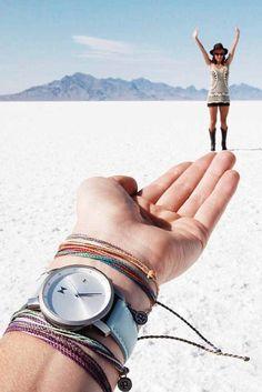 White Sandy Desert | Pura Vida Bracelets + MVMT watches team up to bring your summer to the next level #jointhemvmt #puravida