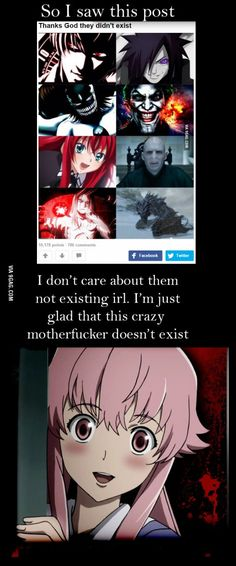 As much as I adore Yuno-senpai, I'm still glad she doesn't exist :'D