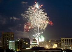Boise Fireworks. Promote local progress using boisethinks.org!
