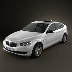 3d8d4c9ff265 3D model of BMW 5 series Gran Turismo 2011