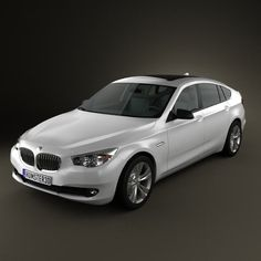 BMW 5 series Gran Turismo 2011 3d model from humster3d.com. Price: $75
