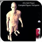 Ball Player full perm Figure Statue