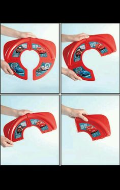 new #disney pixar cars portable potty seat locks in place with skid resistance from $5.99