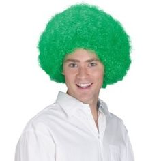 Buy costumes online like the St. Patricks Day Irish Afro Adult Costume Wig Green from Australia's leading costume shop. Irish Costumes, St Patrick's Day Costumes, Buy Costumes, Costume Wigs, Super Hero Costumes, Costume Shop, Funny Halloween Costumes, Adult Costumes, Green Costumes