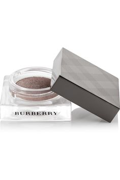 "Burberry Cream Eyeshadow in ""Gold Copper no. 100"", ""Mink no. 102"", and ""Charcoal no. 114"""