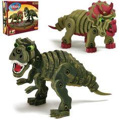 Tyrannosaurus rex & tricératops de Bloco Modèle: BC-25004  http://411buyitnow.com/fr/jeux-jouets/jouets/jeux-de-casse-tetes/tyrannosaurus-rex-triceratops-bc-25004-de-bloco.html