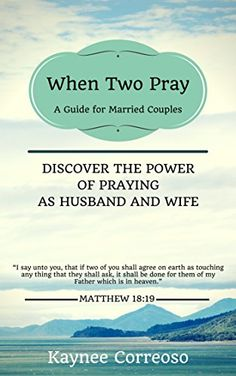 When Two Pray: Discover The Power of Praying as Husband a... https://www.amazon.com/dp/B018HGNV5Y/ref=cm_sw_r_pi_dp_x_DBJhybQN7FF4S