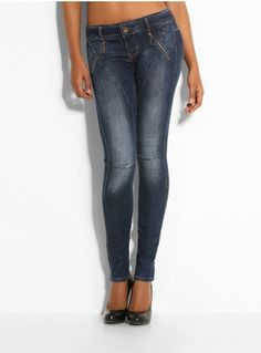 Jean Slim Taille Haute Guess Mode Pinterest Jean Slim Taille