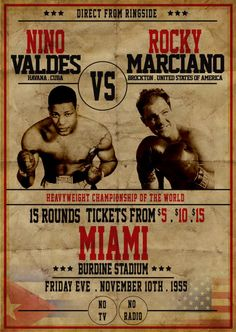 Fantasy Fight Posters Gallery - Page 27 - East Side Boxing Forum