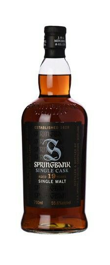 1997 Springbank 19 Year Old Single Rechar Sherry #603 Cask Strength Single Malt Scotch Whisky