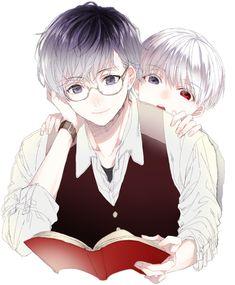 Haise Sasaki , little Kaneki Ken - Tokyo Ghoul re: