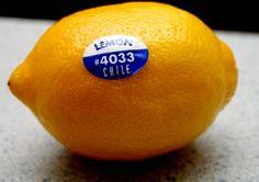 Prawdopodobnie kiedyś zauważyłeś te malutkie naklejki na owocach. Poza logotypem producenta, znajduje się na nich także...