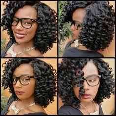 Crochet Braids Shared by Jasmine Jones - Black Hair Information Community My hair is braided straight back into 7 cornrolls. I used 4 packs of Bobbi boss jamaican braid marley hair. I precurled it using the white rods. Crochet Braids Marley Hair, Crochet Hair Styles, Marley Braids, Crotchet Braids, Crochet Wigs, Crochet Bob, Crochet Style, Curly Hair Styles, Natural Hair Styles