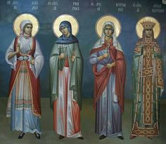 Byzantine Icons, Byzantine Art, Religious Icons, Religious Art, Orthodox Christianity, Orthodox Icons, Nostalgia, Saints, Angels
