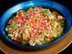 Receta   Baba ghannouj (Ensalada de berenjenas y verduras) - canalcocina.es