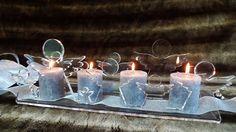 Advent: Kerzenständer  ENGEL    BAUM   von PAULSBECK Buchstaben, Dekoration & Geschenke auf DaWanda.com