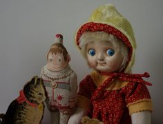 Googly Doll by The Little Hamptons. by TheLittleHamptons on Etsy